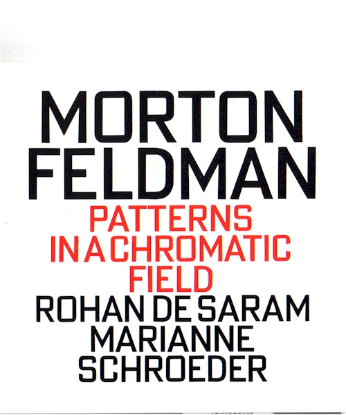 Feldman CD Cover